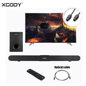 XGOODY SoundBar TV Home Home Théâtre avec subwoofer S-XS01 40W Bluetooth 4.0 Bar Bar Sound Bar Système de haut-parleur sans fil Aux USB Télécommande1