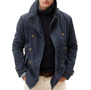 Winter Fashion Warm Jacket 2021 New Men's Casual Cotton Padded Coat Loose Coat Cotton Jacket New Designers Winter Jackets Mens