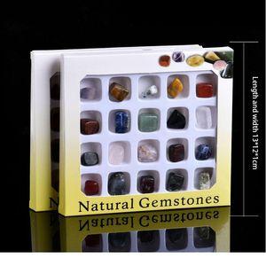 20-in-1 Kombinasyon Takım Doğal Kaya Kristal Mineral Takı Ev Ev Dekorasyon Çalışma Odası Dekorasyon Koleksiyonu QYLWRQ
