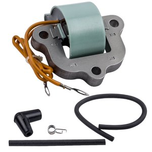 1x Ignition Coil 1x Spark Plug Boot Replaces For Johnson Evinrude 50 65 70 80HP
