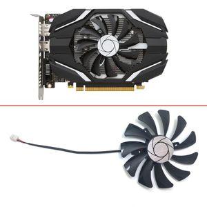 HA9010H12F-Z 85MM 0.57A 2Pin PC Cooling fan GPU Cooler Fan For MSI Geforce GTX 1050 2G GTX 1050Ti 4G OC Graphic Card Cooling