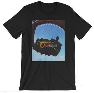 Mens-Sommer-T-Shirt Rapper Travis Scott Astroworld Buchstabe-Druck-Frauen-beiläufige Hip Hop-T-Shirt Liebhaber Sommer Tees Top Fashion Wear