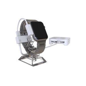 A808 Applx Watch 8 Ports Sistema de alarme com cabo de segurança Cabo Smart Watch Anti Three Display Stand