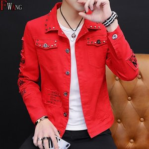Мужская одежда лето новый стиль Cowb весной и осенью джинсы пальто Корейский стиль Мужская мода Студенты Красивый Versatile Jacket