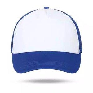 Diy Logo Men Women Adjustable Caps Summer Advertising Hats Matching Sponge Breathable Mesh Baseball Caps Custom Print Logo Text jlllnT