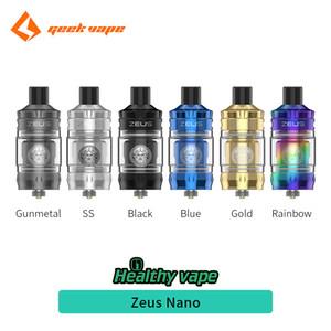 100% d'origine Geekvape Zeus Nano réservoir 2ml / 3.5ml avec G Boost Coil 0.6ohm / 0.4ohm pour Geekvape Aegis Kit Hero