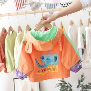 HIPAC Boy Coat Fashion Spring Korean Style New Children Outwear 0-6 Years Toddler Boys Jacket Coats Kid Autumn Girl Jackets 201106