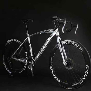 Road racing bicycle variable speed dead fly super light solid tire live cycle 26