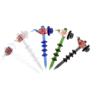 QBsomk Glass Dabber Tool for Oil and Wax glass oil rigs Dab Rigs Carving tool For glass bong quartz nails Herb Wax Dab Tool