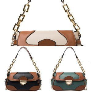 A9wN1 genuine luxury handbags purses Fashion LOULOU PUFFER BAG lady Simple crossbody Retro black quilted handbag leather designer