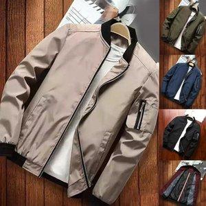 Men's Jackets Mens Pilot Bomber Jacket Male Fashion Baseball Hip Hop Streetwear Coats Slim Fit Coat Brand Clothing