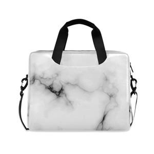 Travel Laptop Bag 14 15.6 16 Inch Waterproof Notebook Sleeve Case Shoulder Bag For Macbook Air Pro Marbling Handbag Briefcase