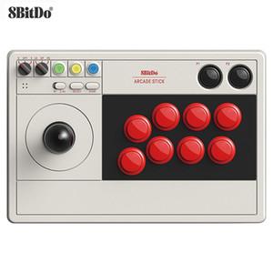 8bitdo Arcade Stick джойстик беспроводной Bluetooth / 2.4G / Wired поддерживается Turbo для переключения Windows Y0114