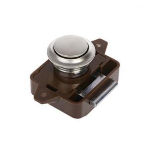 2020 New Camper Car Push Lock RV Caravan Boat Motor Home Cabinet Drawer Latch Button Locks For Furniture Hardware1
