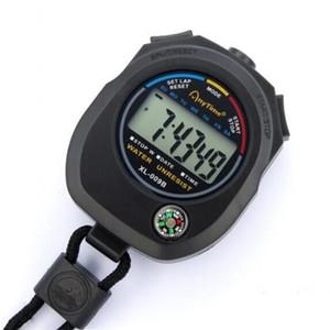 Elettronica cronometro Nero Life Portable Life Impermeabile Timer in esecuzione Match Coach Arbitro Cronografo Strumenti sportivi all'aperto Accessori 5 5ZJ N2