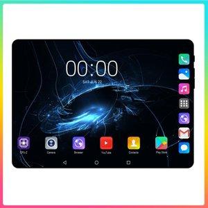 슈퍼 강화 2.5D 유리 10.1 인치 태블릿 PC 안드로이드 9.0 OS OCA 옥상 6GB RAM 128GB ROM 8 코어 1280 * 800 IPS Phablet Tablet 10