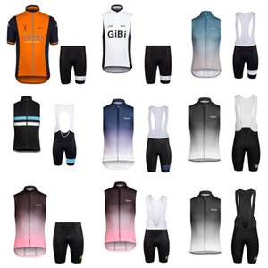 Rapha Cycling Sleeveless Jerseys Set Mens Mtb Bicycle Clothes Breathable Racing Clothing Pro Team Road Bike Wear Ropa Ciclismo C2603