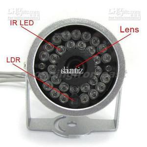 Video Audio IR Infrarot-Cam 30 LED Tag / Nacht-CCTV-Kamera-Überwachung Wried