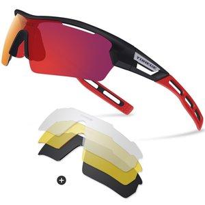 Marke Unisex Art und Weise polarisierte Sonnenbrillen für Männer Frauen Laufen Fahren Angeln Golf Baseball Brille EMS-TR90 Unbreakable Rahmen