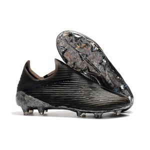 Sapatos New Mens Copa X19 + 19,1 FG Hot Deslizamento-Em Champagne Solar Red Futebol Botas Scarpe Inner jogo chuteiras de futebol sapatos tamanho 39-45