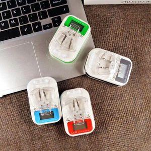 유니버설 핸드폰 배터리 액정 범용 충전기 단일의 USB 충전기 소개 Eu를 영국 플러그 1A 여행 충전기와 소매 상자