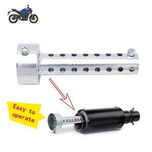 Universale 35/42/45/48/60mm Moto Silver Silver Silver DB Killer Silenziatore Baffle Insert Silver Noise Sound Sound Eliminator1