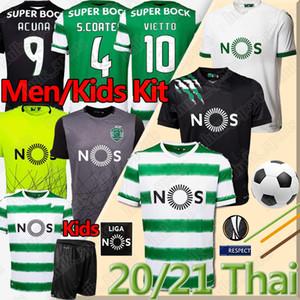 20 21 الرياضية CP كلوب دي الرياضية Lissabon Fußball Trikots رقم 28 C.RONALDO PHELLYPE 2019 2020 B.FERNANDES ريترو لكرة القدم الفانيلة لشبونة DOST