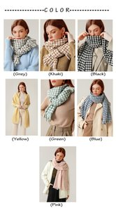 Fashion Houndstooth Cashmere Scarves for Womens and Mens Long 180cm 70cm High Quality Comfortable Wearing Amazing Beautiful