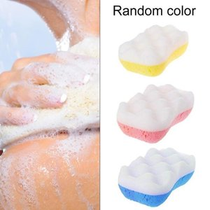 1PC 3 styles Soft Body Cleaning Bath Spa Sponge Scrubber Adult Bath Sponge Cleaning Shower Scrub Bath