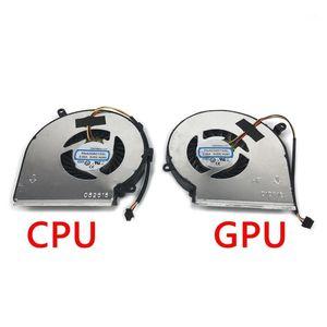 Новый ноутбук CPU GPU OEM охлаждающий вентилятор для MSI GE72 GE62 PE60 PE70 GL62 GL72 COOLER PAAD06015SL 3PIN1