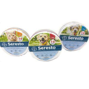 Seresto Nuovo rimuove i cani delle pulci e dei biscotti dei cani dei cani Cats fino a 8 mesi Collare di tick delle pulci Anti-zanzara e repellente per insetti 201104