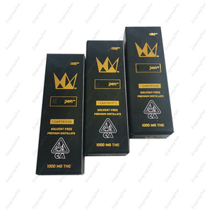 Designer Empty Vape Cartridge Childproof Packing Box WEST CURE PEN E Cig Packaging Paper Box Free Shipping
