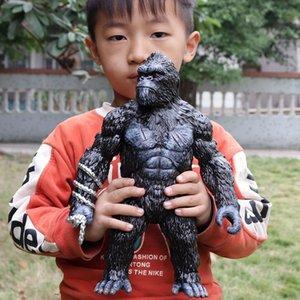 KingKong Şekil 12inch / 30 cm Maymunlar goril PVC Aksiyon Dev Orangutan Reçine Tahsil Modeli Oyuncak Şekil