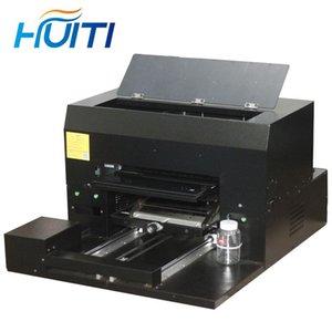 Принтеры Huiti, A3 Размер, 8 цветной высокой точности Универсальный УДОВЛЕННЫЙ УДОВЛЕННЫЙ ПЛОТНЫЙ Принтер, Мобильный Телефон Оболочка Винный Стеклянный Акриловый принтер