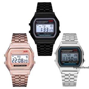Free shipping F-91W LED watches Fashion Ultra-thin digital LED Wrist Watches F91W Men Women Sport watch VS smart watch