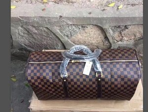 00S bolsa de moda bolsas de lona hombres bolsas de viaje femeninos gran capacidad de carry bolsa de viaje en el equipaje durante la noche de fin de semana con el número de serie del mar de bloqueo