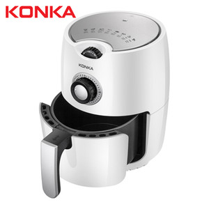 Konka 500000 Multifunction Air Fryer Chicken Oil Free Air Fryer Health Fryer Pizza Cooker Smart Touch LCD Electric Deep Airfryer Free