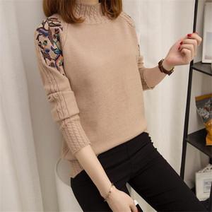 Winter Women's Blouse New Fashion Autumn Women Sweater Plus Size Women Slim Pullover Sweater Women Long-sleeve Sweater 201023