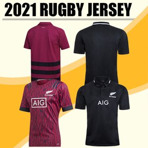 2020 Tüm Siyah Süper Rugby Formalar Sevens Rugby Gömlek Maillot Camiseta Maglia Yüksek Kaliteli S-5XL