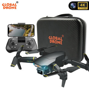 Global Drone 4K Drone With HD Camera EXA GD89 Pro RC Helicopter FPV Quadrocopter Obstacle Sensing Drone Vs E58 Toy