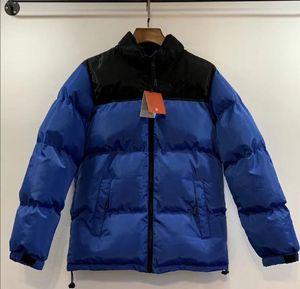 Мужская мода вниз пальто 20FW зимы Женские ветровки Теплый Письмо вышивки Pattern ветрозащитный Ткань высокого качества куртка размер M-2XL 9 цветов