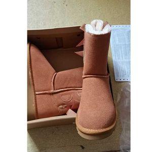 pruva Bilek Patik Yüksek Düşük Chestunt koyu kahverengi Gri Bej Kırmızı siyah Donanma Boyutu 36-41 ayakkabılar Yeni Gelenler Kar Boots womens