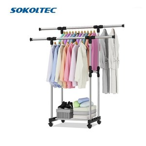 Sokoltec hanger home decoration accessories convenient drying rack multifunctional drying rack storage bag plastic storage1