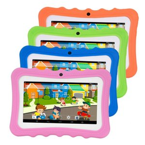 "Kids Tablet PC 7"" Quad Core children tablet Android 4.4 christmas gift google player wifi big speaker protective cover 8G"