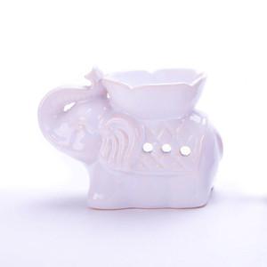 الفيل السيراميك الضروري النفط مصباح رائحة مصباح البتلة البخور الموقد مصباح رائحة الناشر الديكور المنزل الحلي EEF4361