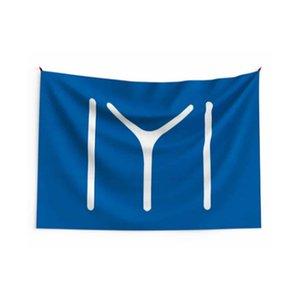 Outdoor 3x5ft IYI KAYI Benutzerdefinierte Flaggen Banner Heiße Verkäufe 150x90cm 100D Polyester Digitaldruck Hohe Qualität mit Messingzweigungen