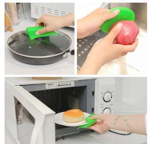 Cocina SILE Lavado Scrubbers Multifuncional SILE Esponja Lavavajillas Cepillo de lavado de frutas Pinceles Anti WMTOOO DH_NIESSHOP