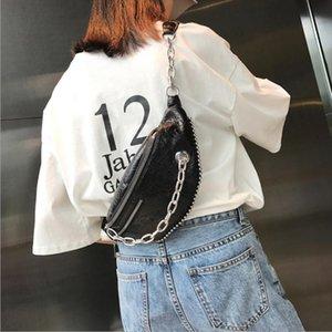 Local Stock Strap Women Pouch Shinny PU Waist New Pack Belt Wallet Fanny Travel Bum Bag Leather Fashion Wxrud
