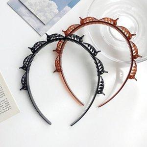 Christmas Headband Decor Double Bangs Hairstyle Hairpin Hair Clip Accessories Serre Tete Pince Navidad New Year Hair Band Decor