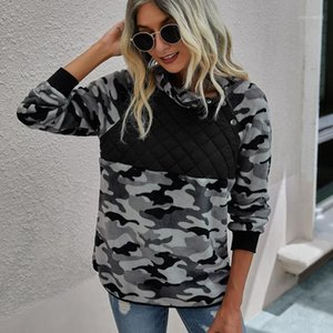 Felpe donna Moda Solid Leopard Stampa Leopardo confortevole Calore Peluche Peluche Felpa a maniche lunghe Pullover Top Hoodie Women Abbigliamento1